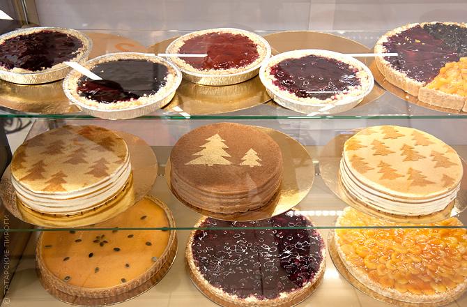 Татарские пироги. Торты к Новому году