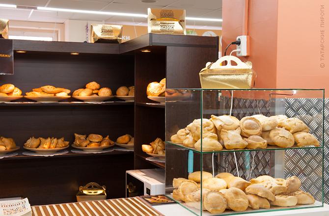 Татарские пироги в супермаркете